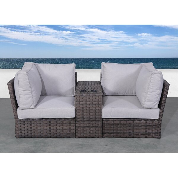 Cochran Loveseat with Cushions by Rosecliff Heights Rosecliff Heights