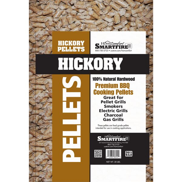 Pellets Hickory Wood for Grills Stove by HomComfor