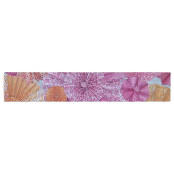 Heidi Jennings Blossoming Table Runner by East Urban Home
