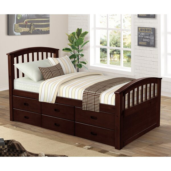 Viviene Twin Bed with Drawers by Charlton Home