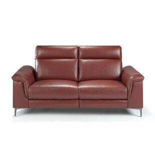 Genuine Leather Upholstered 3 Seater Reclining Sofa ...
