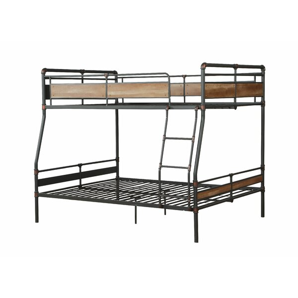 Thursa Hand Brushed Full over Queen Bunk Bed by Isabelle & Max
