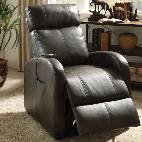 Norcross Manual Lift Assist Recliner by Winston Porter