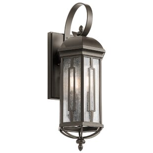 Affordable Sasakwa 3-Light Outdoor Wall Lantern By Loon Peak