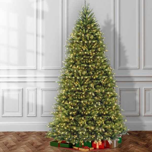 Green Artificial Christmas Tree With 750 Colored And White Lights By The Holiday Aisle by The Holiday Aisle