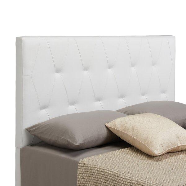 Robinson Upholstered Panel Headboard by Charlton Home