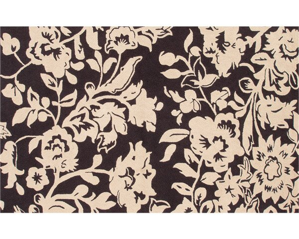 Carolina Hand-Woven Brown/Cream Indoor/Outdoor Area Rug by Threadbind
