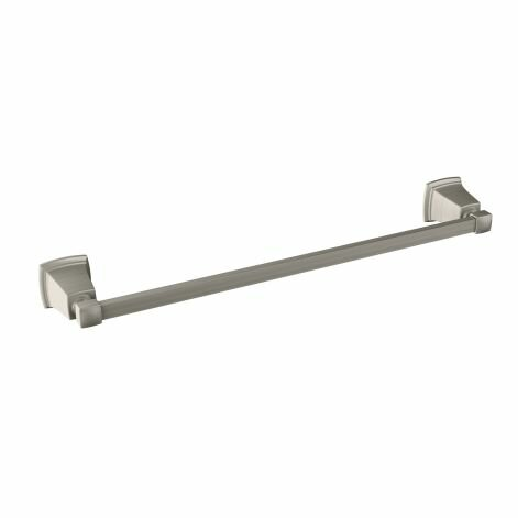 Boardwalk 24 Wall Mounted Towel Bar by Moen
