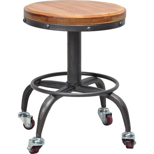 Chianna Accent Stool by Williston Forge