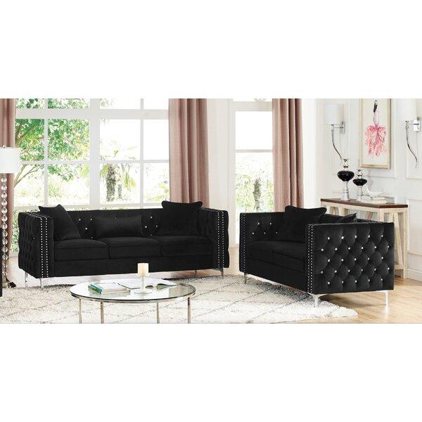 Nimitz 2 Piece Living Room Set by Mercer41