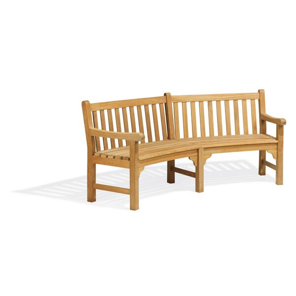 Rotteck Wooden Garden Bench by Loon Peak