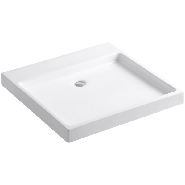 Purist® Ceramic Rectangular Drop-In Bathroom Sink by Kohler