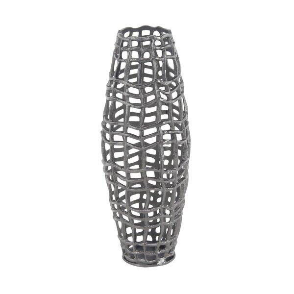 Modern Aluminum Floor Vase by Cole & Grey