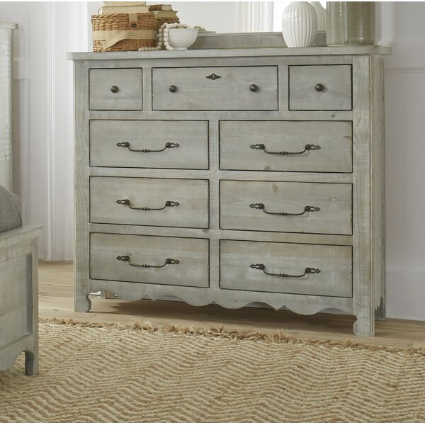 Jeffery 9 Drawer Double Dresser by Ophelia & Co.