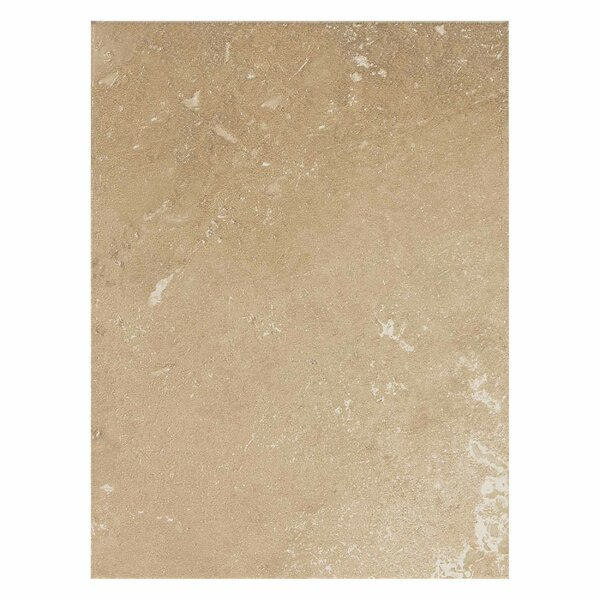Huston 9 x 12 Ceramic Field Tile in Acacia Beige by Itona Tile