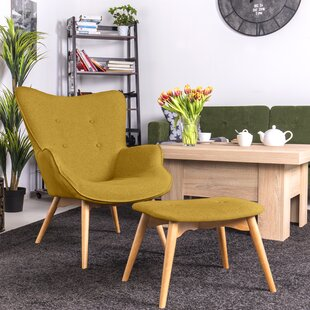 Blomster Armchair And Footstool