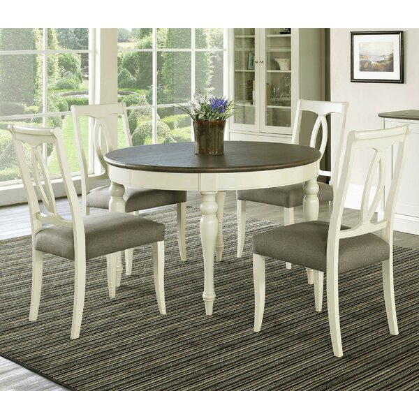 Lattimore 5 Piece Dining Set by Rosecliff Heights