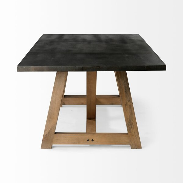 Targhee Solid Wood Dining Table by Ebern Designs Ebern Designs