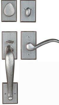 Premium Santa Ana Single Cylinder Handleset by Rockwell Security