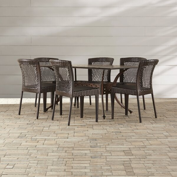 Tondreau 7 Piece Outdoor Dining Set By Bungalow Rose