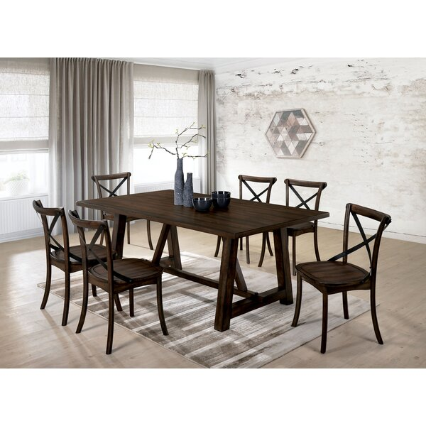 Best Choices Raynor 7 Piece Solid Wood Dining Set By Gracie Oaks Great price