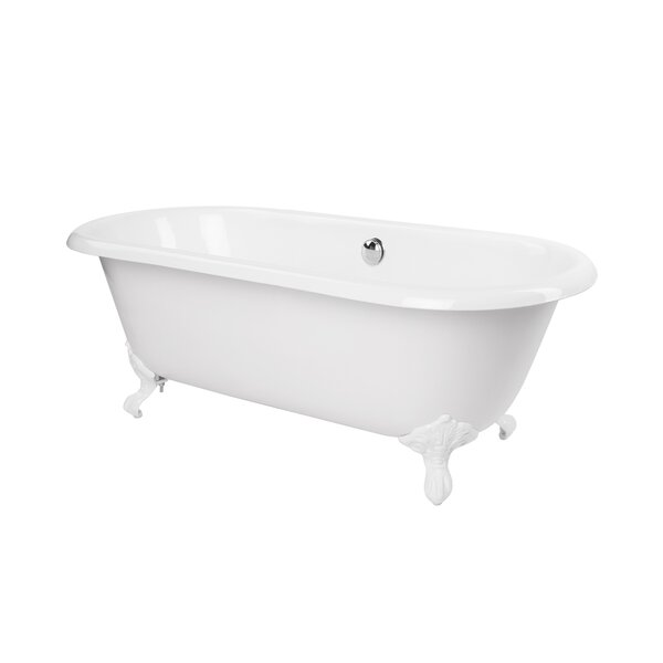 Shirley 67 x 31 Freestanding Soaking Bathtub by Maykke