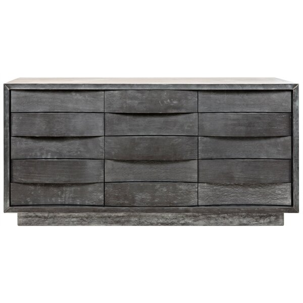 Godard 15 Drawer Dresser by Noir