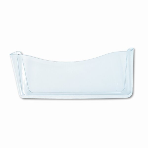 Unbreakable Single Pocket Wall File, Legal, Clear by Rubbermaid