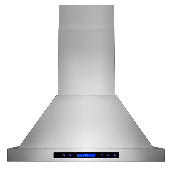 30 471 CFM Ducted Wall Mount Range Hood with Remote by AKDY