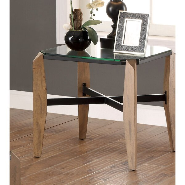 Kristofer End Table by Millwood Pines