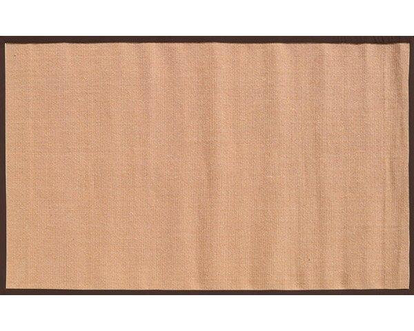 Sangerfield Hand-Woven Tan/Brown Area Rug by Threadbind