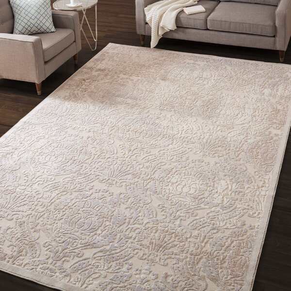 Christena Ivory Area Rug by House of Hampton