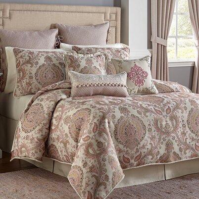 Giulietta 4 Piece Comforter Set by Croscill Home Fashions