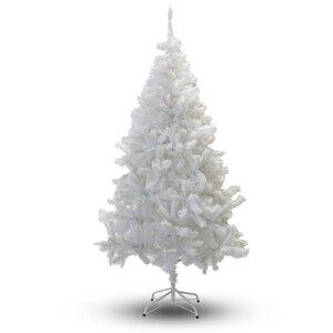6' White PVC Artificial Christmas Tree