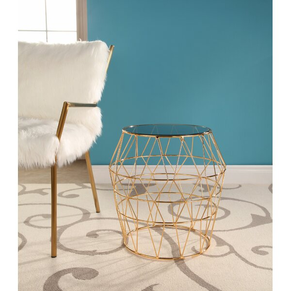 Damen End Table by Brayden Studio