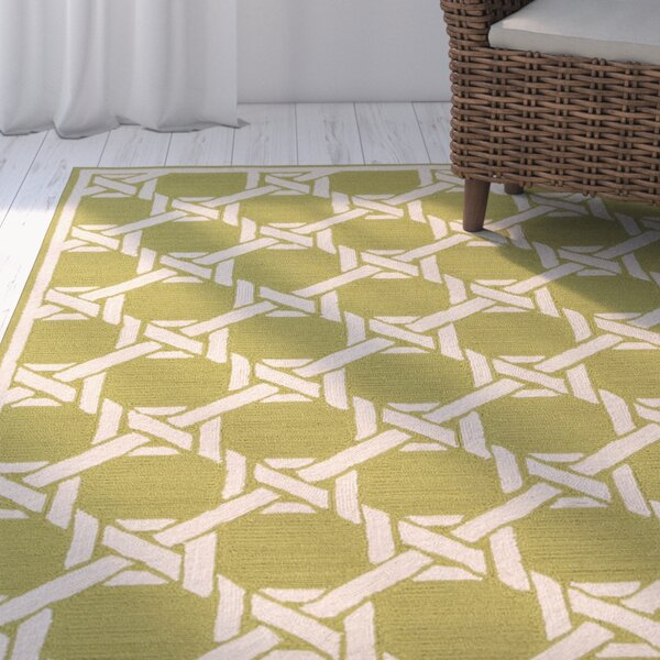 Sweetwood Olive Indoor/Outdoor Area Rug by Beachcrest Home