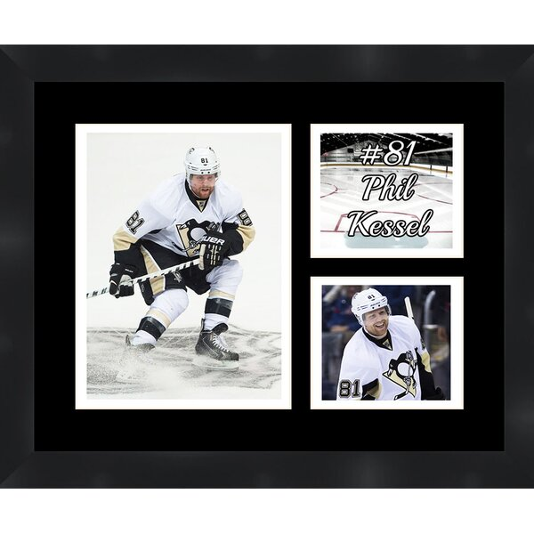 Pittsburgh Penguins Phil Kessel 81 Photo Collage Framed Photographic Print by Frames By Mail