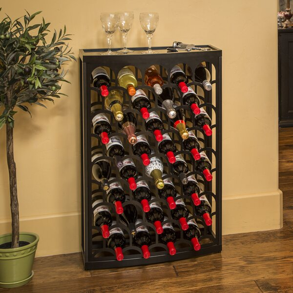 Art Deco Mango Steam 36 Bottle Floor Wine Rack by Mango Steam