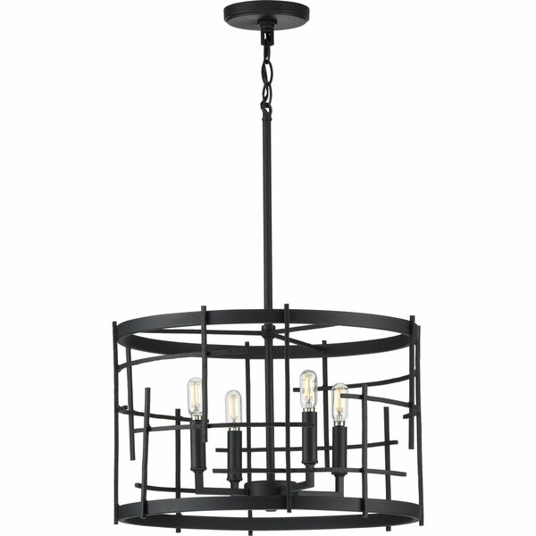 Norcross 4 - Light Unique Drum Chandelier By Williston Forge