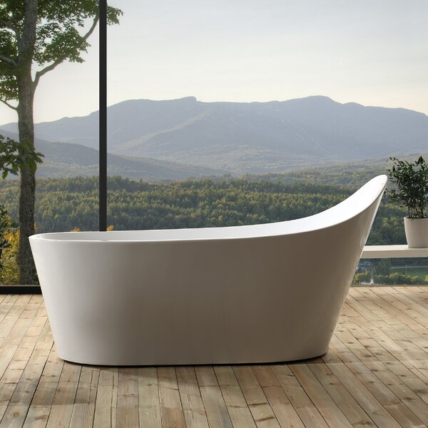 Malaga 67 x 32 Freestanding Soaking Bathtub by Jade Bath