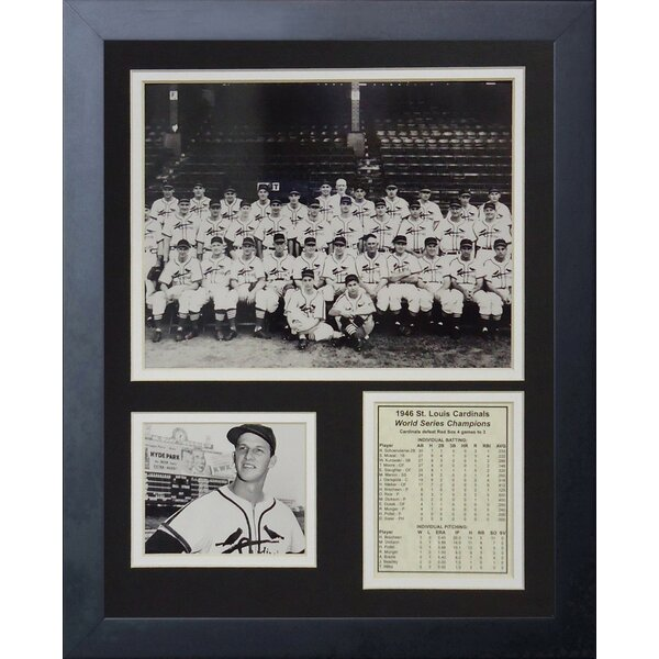 1946 St. Louis Cardinals Framed PhotographicPrint by Legends Never Die