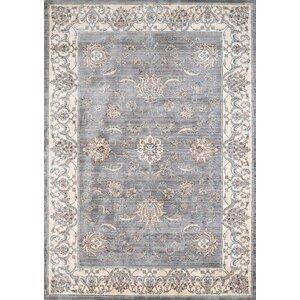 Jansson Oriental Blue/Gray Area Rug