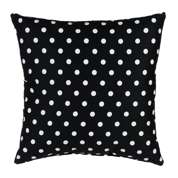Pippin Dot Cotton Throw Pillow by Sweet Potato by Glenna Jean