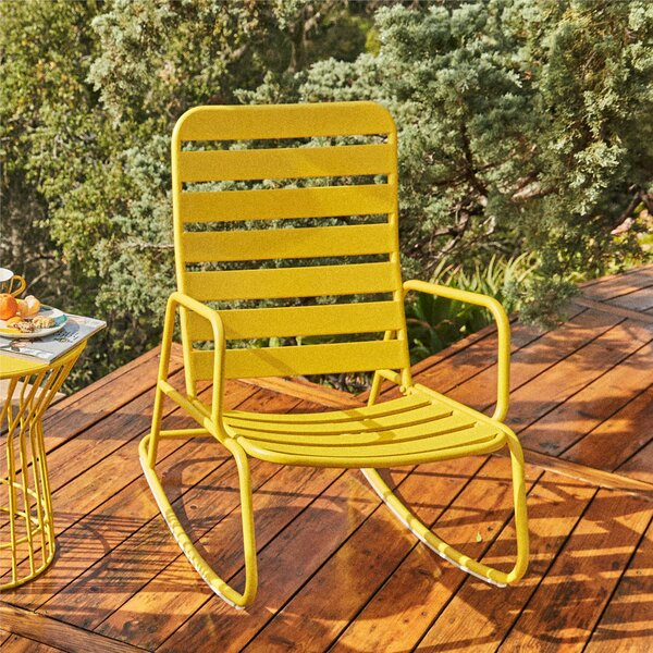 Roberta Outdoor Rocking Chair by Novogratz