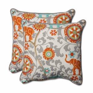 Hardy Outdoor Throw Pillow (Set of 2)