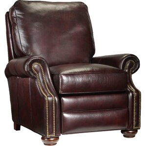 Warner 3 Way Lounger Leather Power Recliner by Bradington-Young