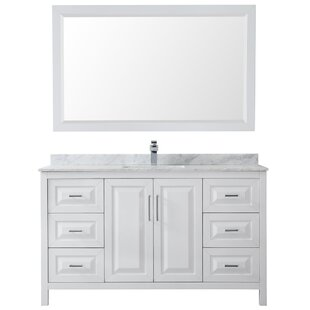 Affordable Daria 60 Single Bathroom Vanity Set with Mirror By Wyndham Collection