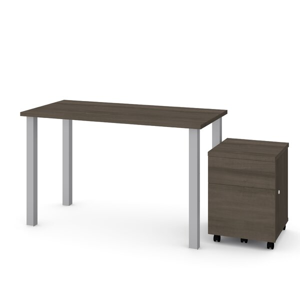 Esperanza 2 Piece Desk Office Suite by Symple Stuff