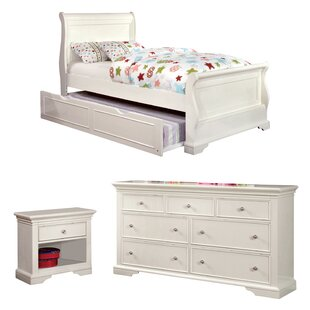 Compare prices Stovall Sleigh Configurable Bedroom Set ByHarriet Bee