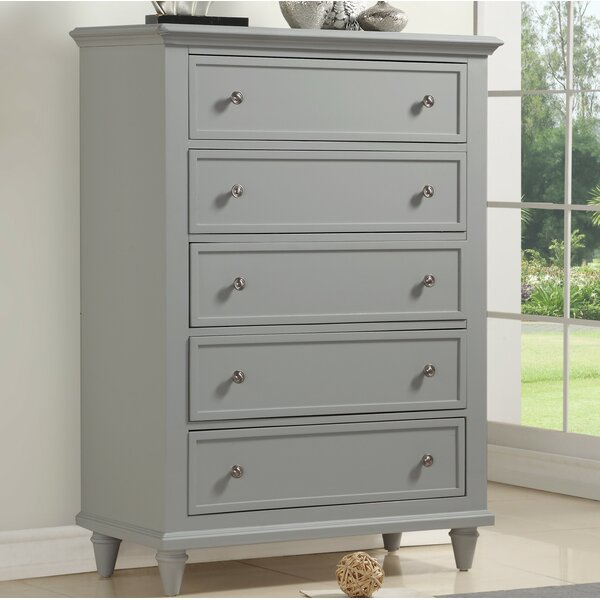 Alley 5 Drawer Dresser by Grovelane Teen